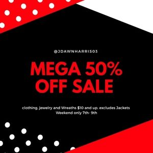 50% WEEKEND SALE